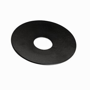Ljusmanschett rund, svart