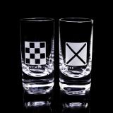 Flaggspel snapsglas